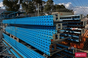 8 x End Frames Dexion 90H Pallet Racking