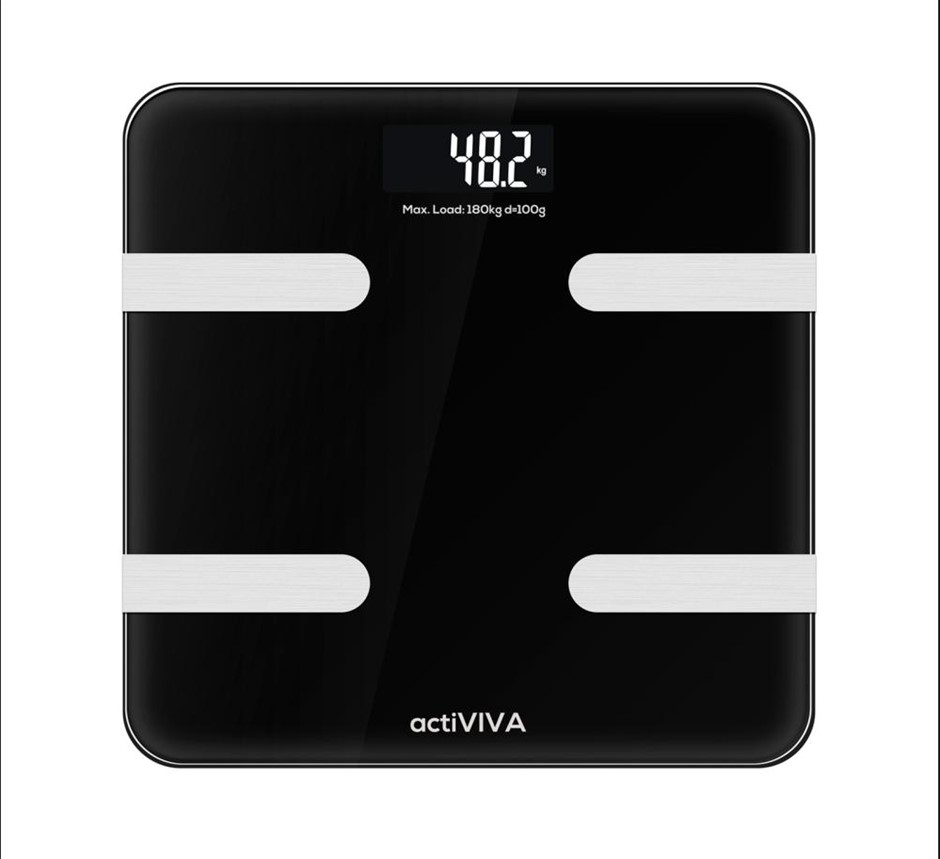 """mbeat MB-SCAL-BT01 """"actiVIVA"""" Bluetooth BMI and Body Fat Smart Scale"""