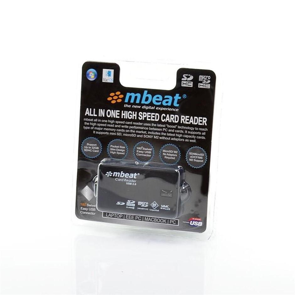 mbeat USB-MCR01 USB 2.0 super speed multiple card reader