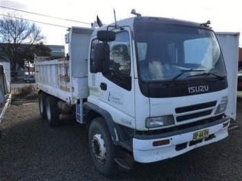 2003 Isuzu FVZ1400 6x4 Tipper