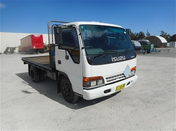 1997 Isuzu NPR66 Tray Body Truck