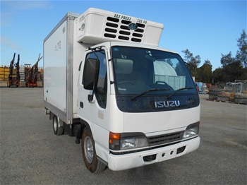 2003 Isuzu NKR200 Flatton Sitec 125 4 x 2 Refrigerated Body Truck