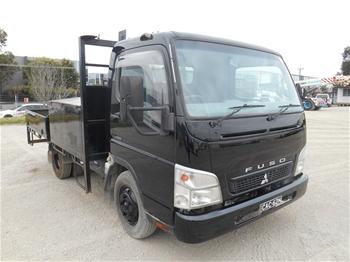 2 x 2007 Mitsubishi Fuso L7/800 Canter 4 x 2 Service Truck