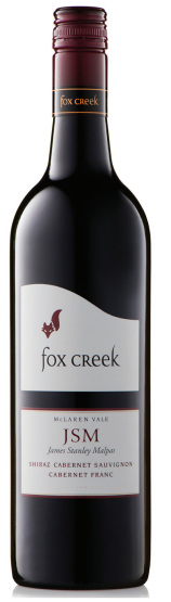 Fox Creek JSM Shiraz Cabernet Franc 2016 (12 x 750mL), McLaren Vale, SA.