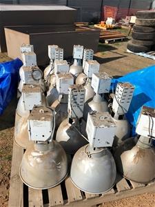 Approx. 17 400W Mercury vapor factor lig