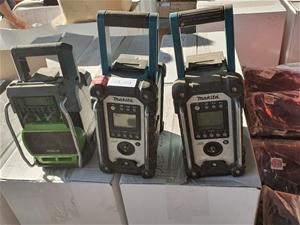 Qty x 3 Various Radios