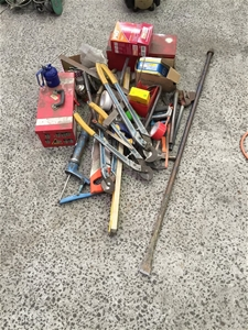 Large Quantity of Assorted Hand Tools