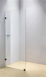800 x 2000mm Frameless 10mm Safety Glass