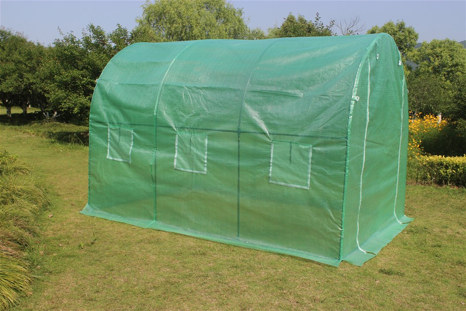 3X2X2M Walk In Greenhouse Tunnel Plant Garden Storage Grow Sheds