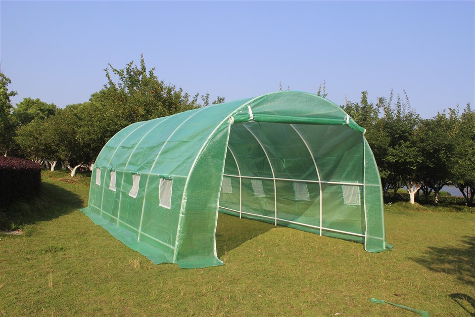 Walk In Greenhouse Tunnel Plant 5M X3M Garden Storage PE Grow Sheds