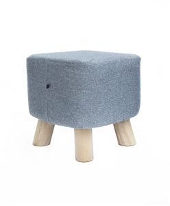 Fabric Ottoman Foot Stool Rest Pouffe Fo