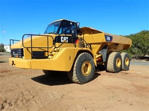 2005 Cat 740 Articulated dump truck