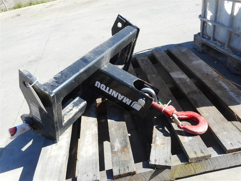 manitou piggyback forklift for sale | Graysonline
