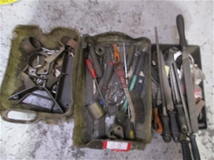 3 Tubs Containing Assorted Hand Tools