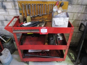 Parts Trolley and Contents