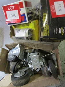 2 Boxes Containing Assorted Castors, Sea