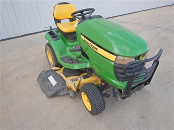 2009 John Deere X320 Ride On Lawn Mower (2 Available)