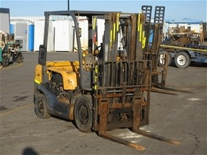 2 x TCM FD25T3 Forklifts
