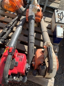 3 x Used Blowers