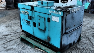 Airman PDS 75S Diesel powered Ar Compres