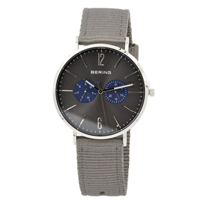Bering Day/Date S/Steel Men's Dress Watc