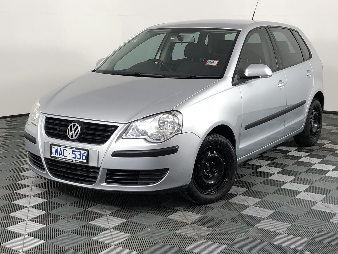 2007 Volkswagen Polo Match 9N Manual Hatchback RWC Issued 08/08/2019