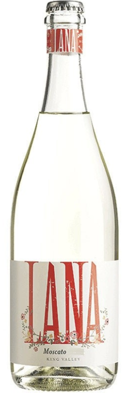 Lana by Pizzini Moscato 2019 (12 x 750mL), King Valley. VIC.