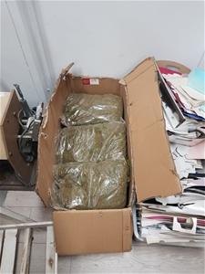 """Bags of Green """"Moss"""" Floristry Supplies"""