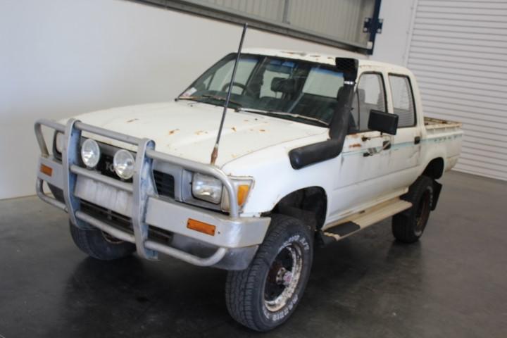 1988 Toyota Hilux 4WD Manual Dual Cab Ute
