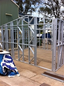 New Flat Pack Steel Frame Cabin Kit Auction 0001 1701643