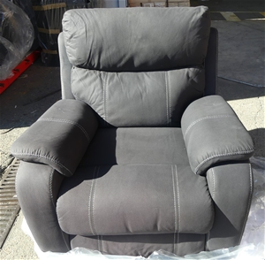 Porter 1 Seater Recliner Lounge (Onyx)