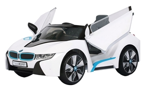BMW I8 Electric Ride On Car - 12V - Whit