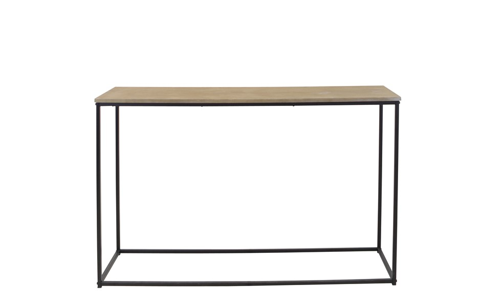 Avoca Chevron Wooden Console Table 120cm