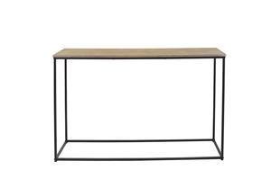 Avoca Chevron Wooden Console Table 120cm