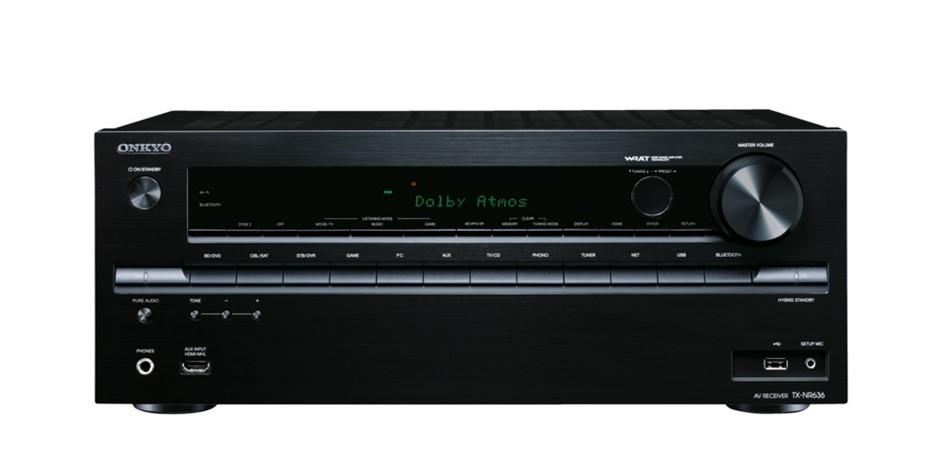 Onkyo TX-NR636B 7.2Ch Home theatre Reciever