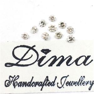 Ten Stones Diamond 0.33ct in Total