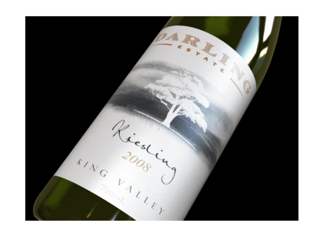 Darling Estate Wines Riesling 2008 (12 x 750mL), King Valley, VIC.