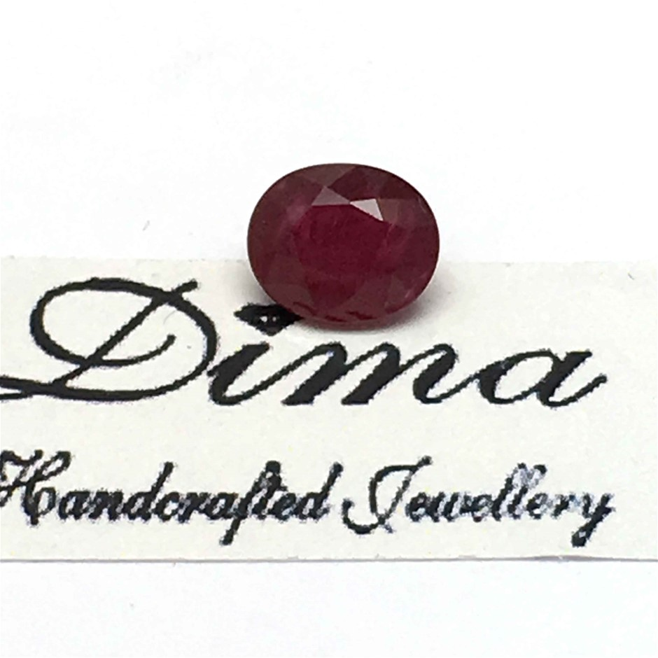 One Stone Ruby 1.50ct in Total