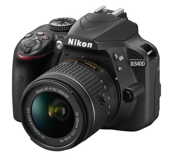 Nikon D3400 DSLR Camera with (18-55mm) Single Lens Kit