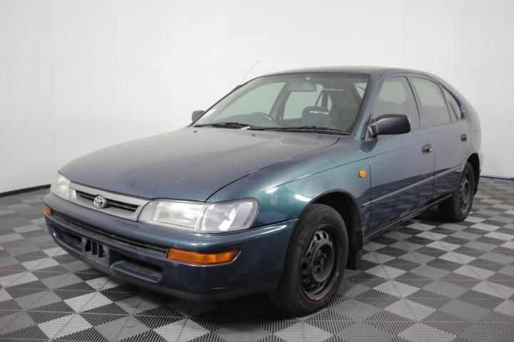 1997 Toyota Corolla Conquest Seca AE102 Manual Hatchback