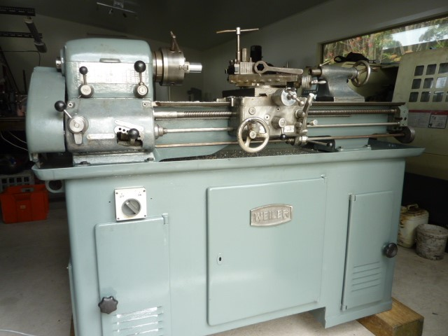 "WEILER 11"" swing precision Lathe"
