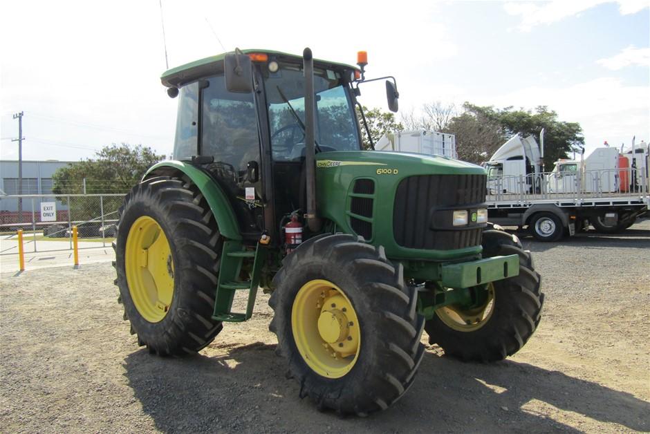 John Deere 6100D Tractor