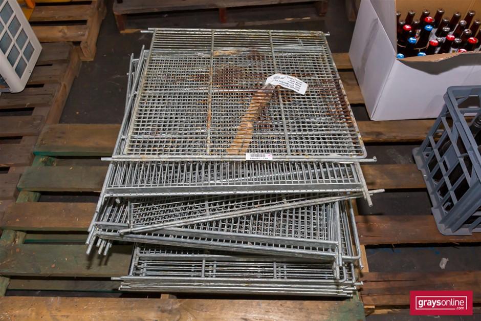 15 x Wire Mesh Frigde Racking