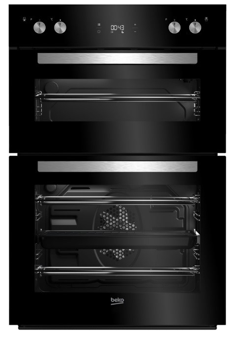Beko BBO60S1DB 60cm Electric Built-In Double Oven