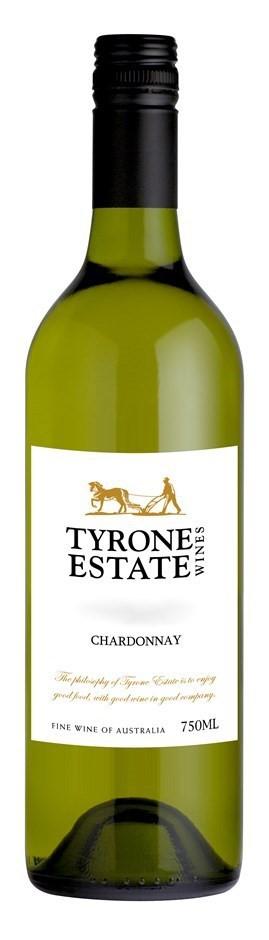 Tyrone Estate Chardonnay 2015 (12 x 750mL) SA