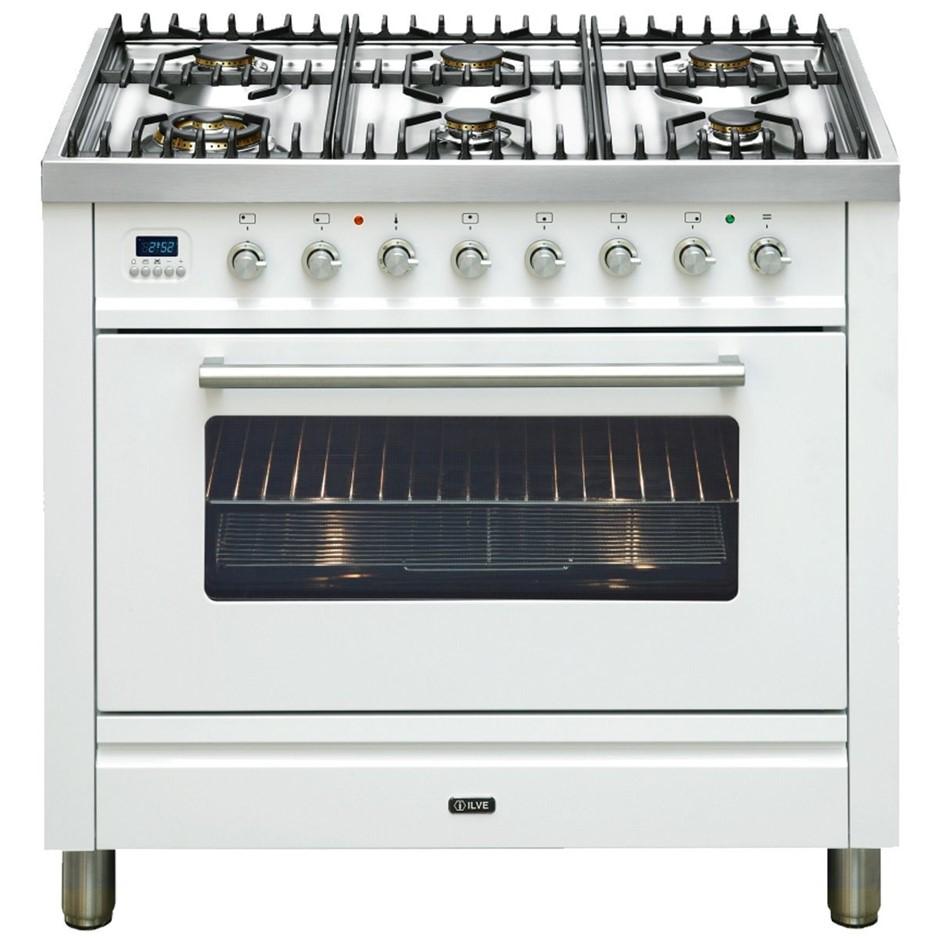 Ilve Freestanding Dual Fuel Freestanding Cooker