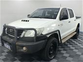 Unreserved 2014 Toyota Hilux SR 4x4 KUN26R T/Dsl Man C/Cab