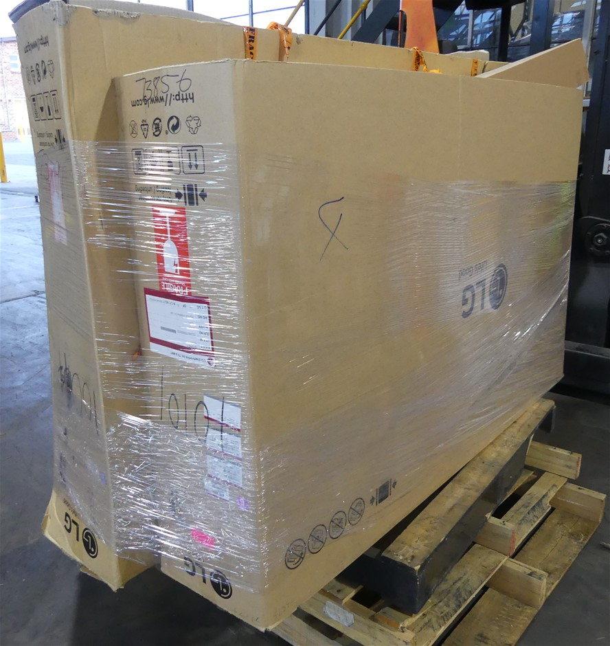 Pallet of Assorted Brand UNTESTED/USED Televisions