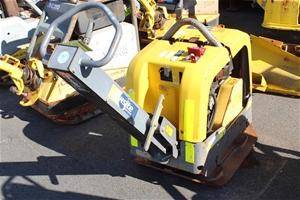 2012 Atlas Copco 256kg Diesel Plate Comp