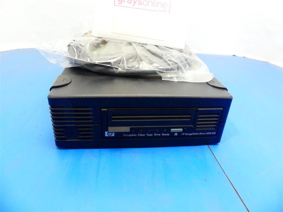 HP (EH958A) Storage Works LTO-5 Ultrium 3000 SAS External Tape Drive
